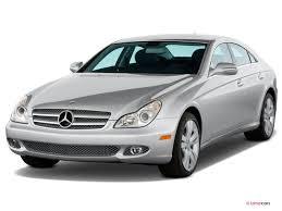 Silver Mercedes Benz CLS