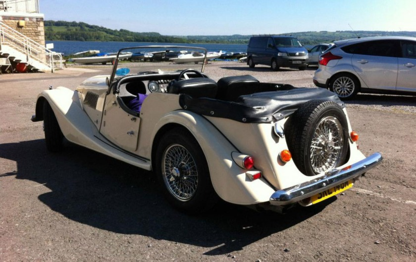 A Morgan 4 Seater - image : car-from-uk.com