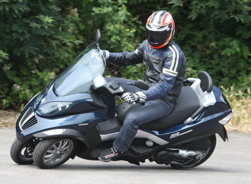 Piaggio MP3 - image : motorcyclenews.com