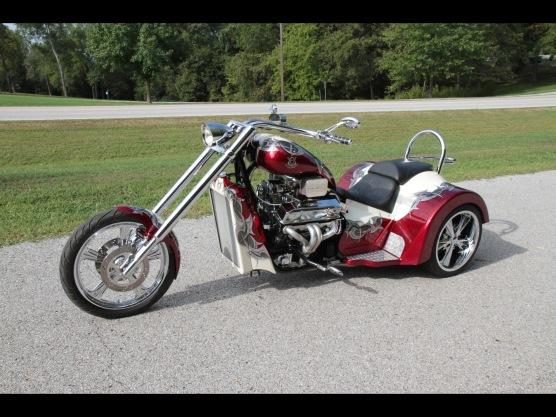 V8 Chopper Trike - image : seriouswheels.com
