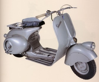 1946 Vespa 98 - image : motorcyclespecs.co.za