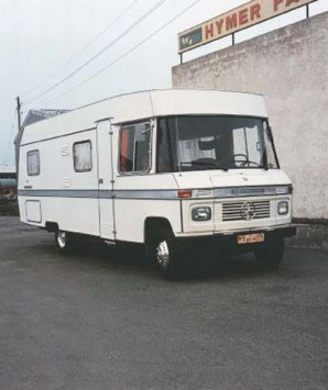 Fully integrated 1971 Hymermobil 660 - image : hymer.com