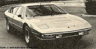 1974 Lamborghin Urraco: source