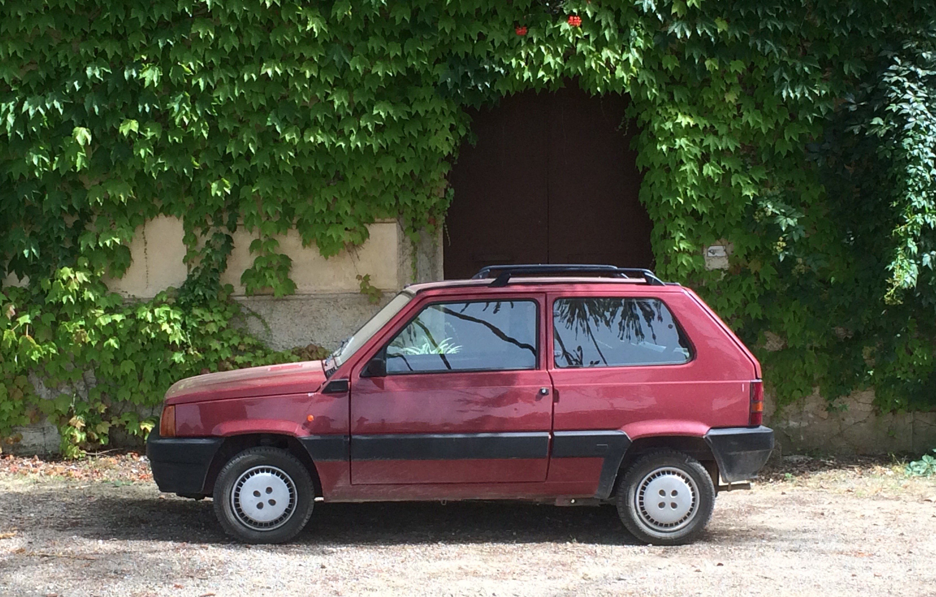fiat panda as seen in 1989 driven to write. Black Bedroom Furniture Sets. Home Design Ideas
