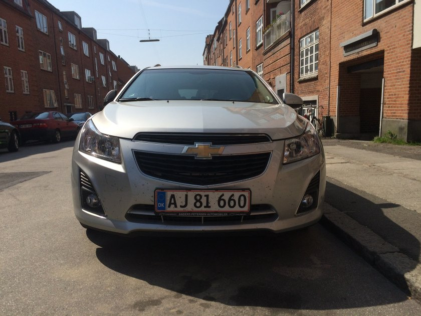 2008 Chevrolet Cruze front end, as seen by the designer.