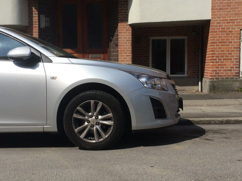 2009 Chevrolet Cruze, side view