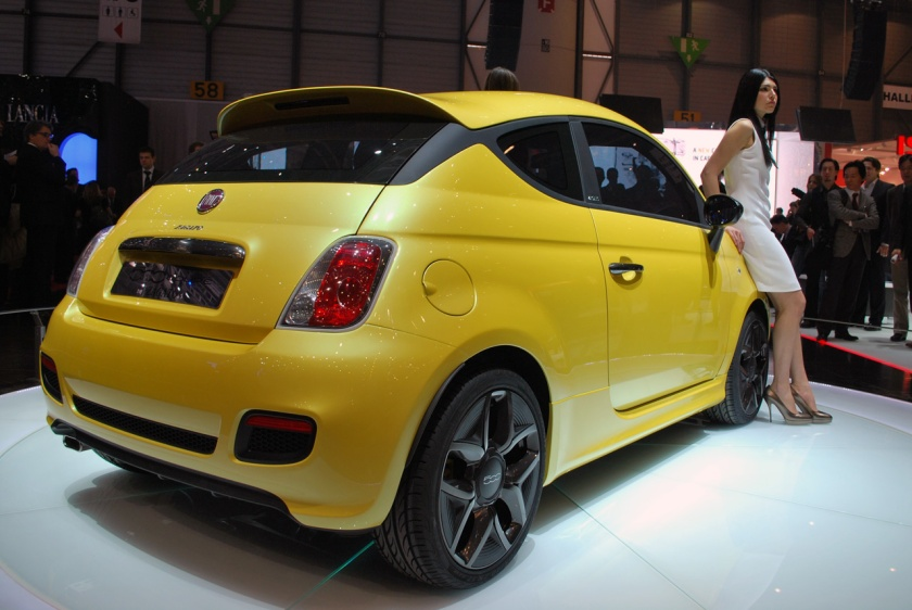 2011 Fiat 500 Zagato concept: source