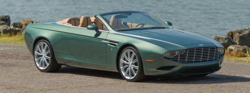2013 Aston Martin DB9 Centenniel Zagato: source