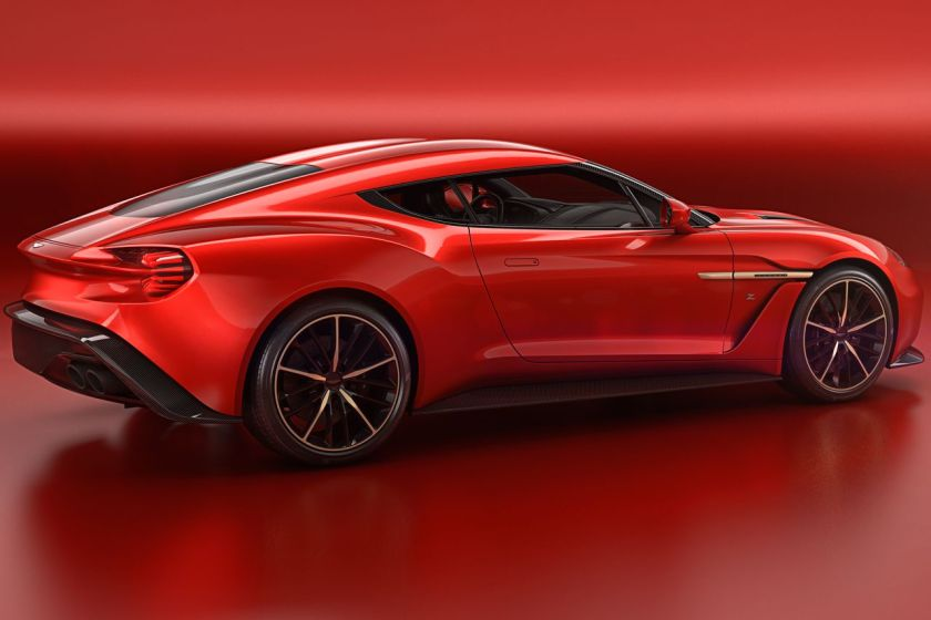 2016 Aston Martin Vanquish Zagato Coupe, the same as it was last month: source
