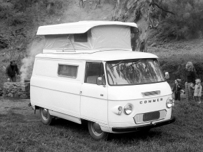 Commer based motorhome - image : pinterest-com