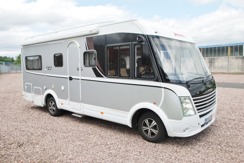 7m long Dethleffs - image: motorhomes.co.uk