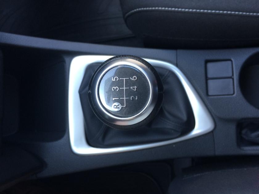 Toyota Auris gear lever bezel. Not fastidiious.