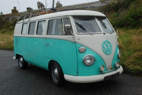 The eternal VW Campervan - image : petrolprices.com