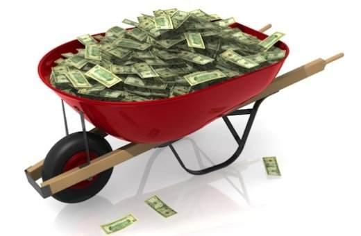 wheelbarrow-full-of-paper-money