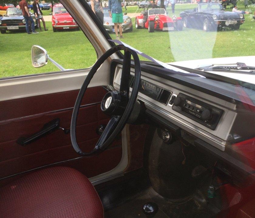 1970 Simca 1000 interior