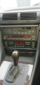 Central Console 7 series BMW