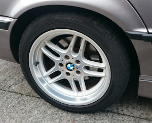 BMW M Parallel alloy wheels