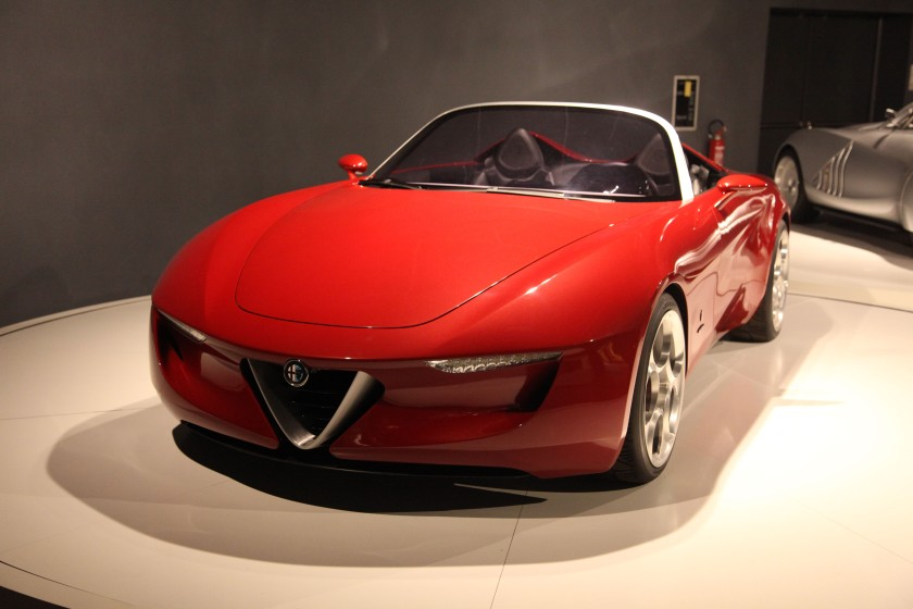 2010 Alfa Romeo Pininfarina 2uettottanta