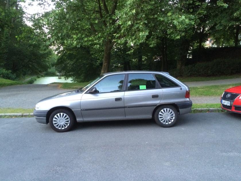 1991-1997 Opel Astra F in Goslar, Germany