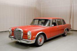 Mercedes 600: car journalists' standard of comfort?