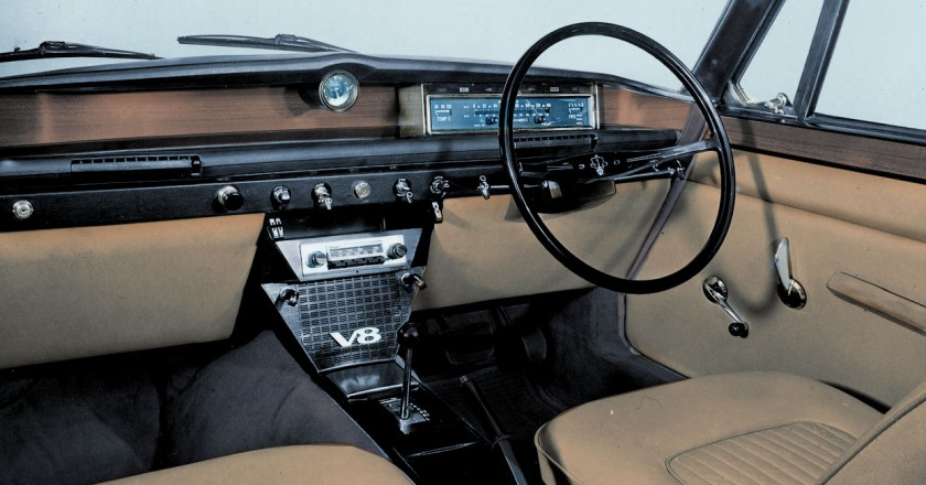 Series 1 V8 Interior