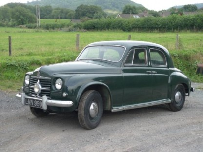 FIRST : 1950 Rover 75 image : classiccars.brightwells.com