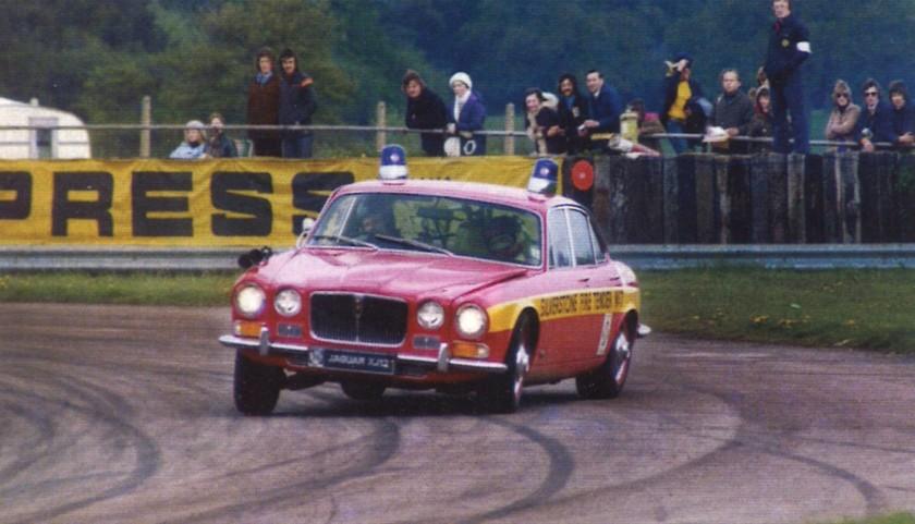 XJ12 Fire Car at Silverstone