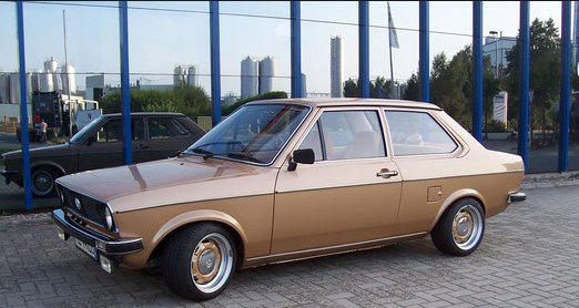 1979 VW Derby, not unrelated to the Polo: source