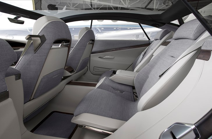2016 Cadillac Escala interior rear: source