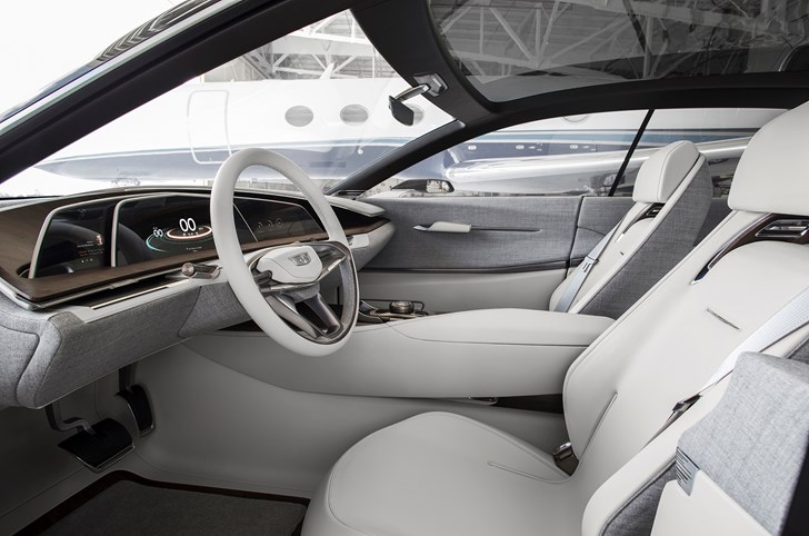 2016 Cadillaci Escala interior: source