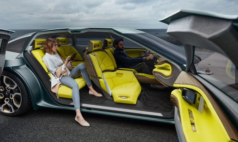 2016 Citroen Cxperience concept car interior: source