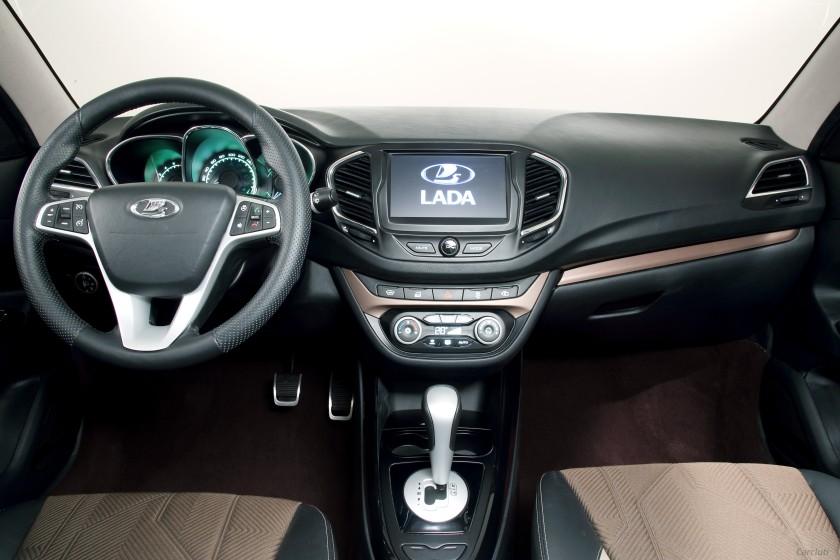 2016 Lada Vesta interior: souce
