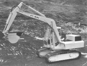 Douglas Scott Hy-Mac excavator