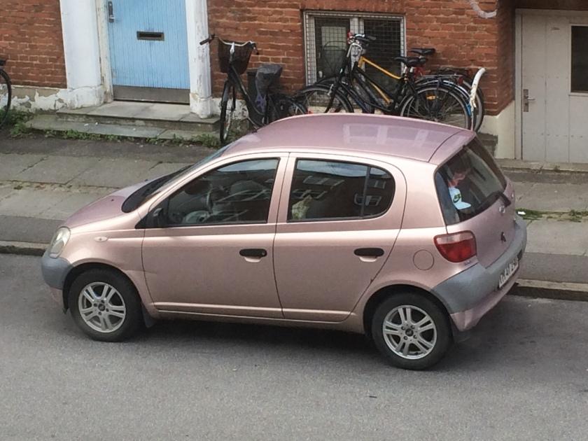 Tastefully pink: 1999-2005 Toyota Yaris