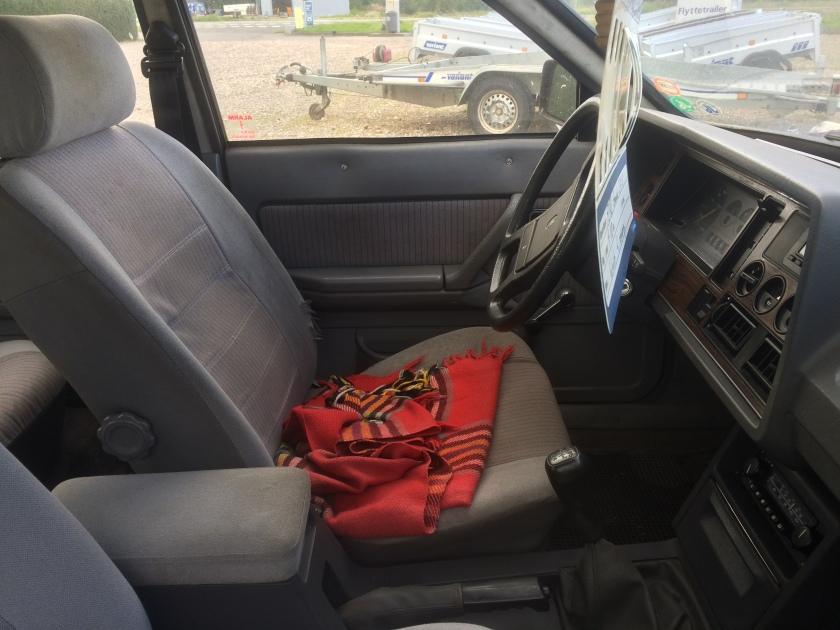 1983 Ford Granada 2.3 LX interior