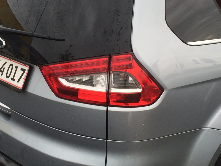 2007 Ford Galaxy tail lamps