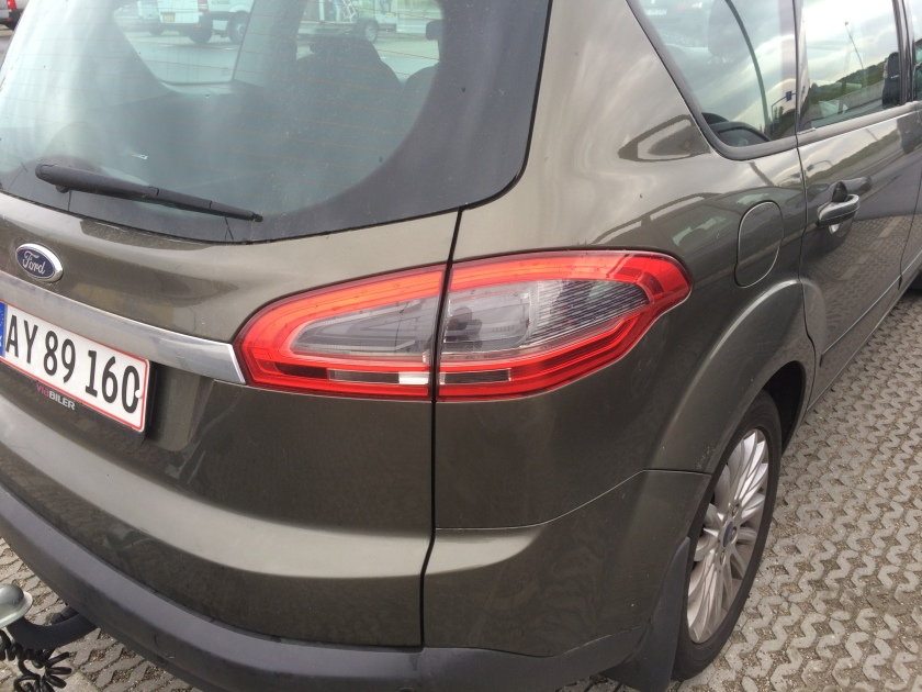 2016 Ford S-Max tail lamp