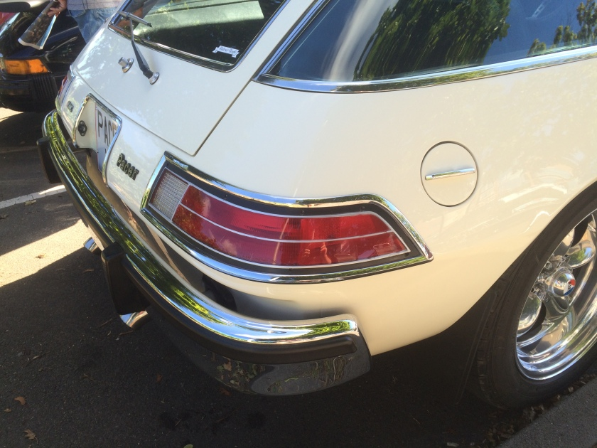 1976 AMC Pacer, rear lamps.