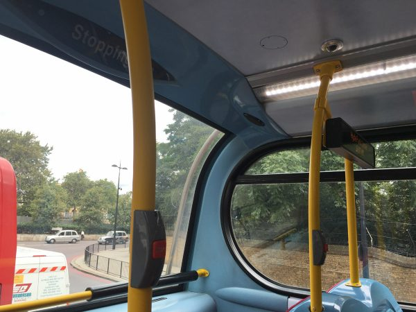 The Competition : cheap, but bright - View from an Enviro 400