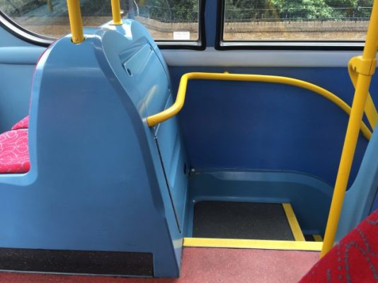 The Competition : cheap, but bright - Stairs on an Enviro 400