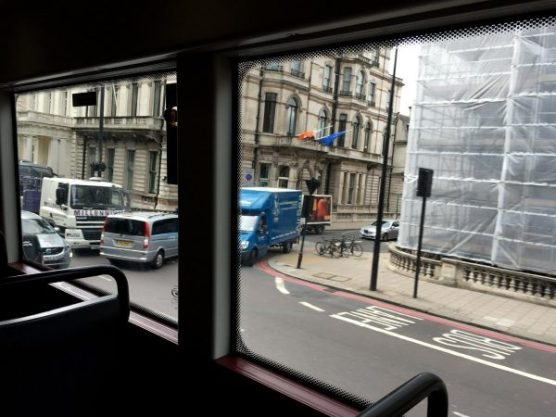 Classier, arguably, but restricted - View from New Routemaster