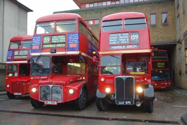 More different than they seem - Routemaster and its RT prececessor