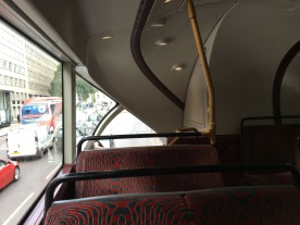 Expensive to produce, but was it worth it? Rear facing on New Routemaster