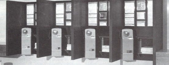 Douglas Scott STD Phone Booths at Heathrow