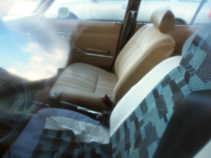 What's hiding under this seat cover?