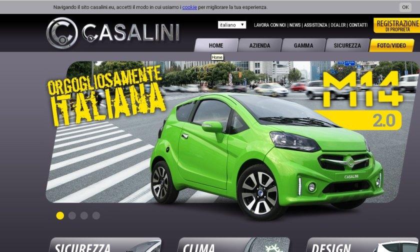 2016 Cassalini homepage
