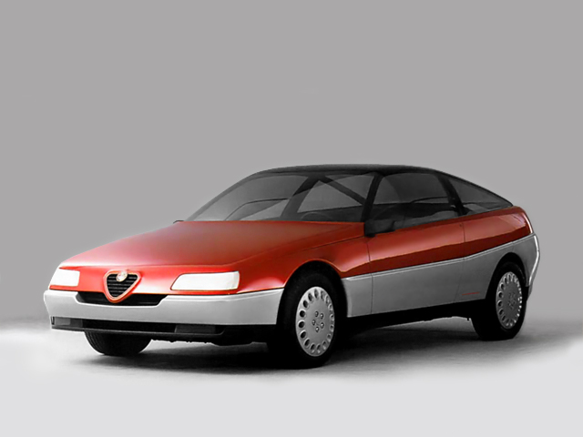 Pininfarina Vivace Coupe. Image: oldconceptcars