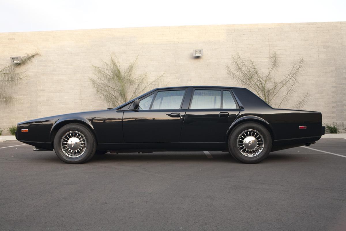 Future Postponed 1976 Aston Martin Lagonda Driven To Write
