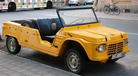 Citroen Mehari - image : driven.co.nz