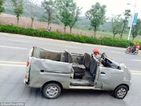 Chinese DIY - image : dailymail.co.uk